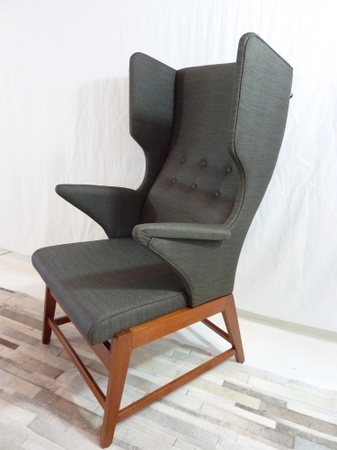 DANISH WINGBACK CHAIR & Hunters + Collectors - Sold Archive - DANISH WINGBACK CHAIR